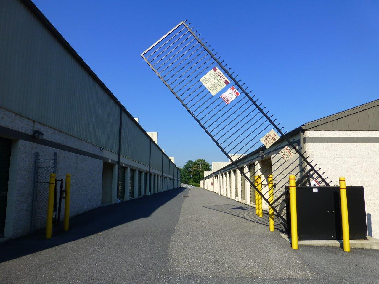 Vertical Pivot Entry Gate at Capital Self Storage