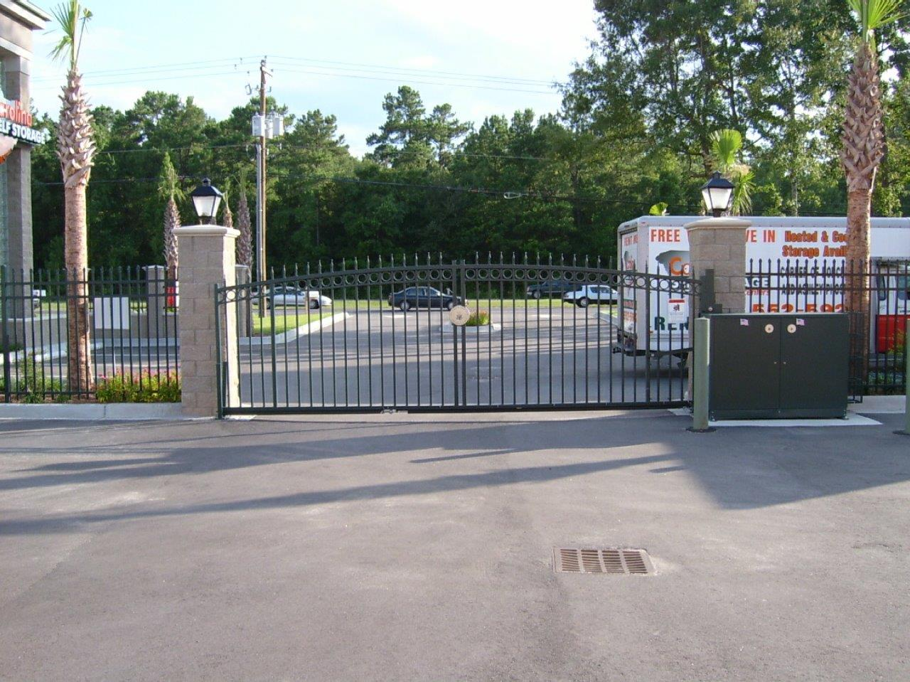 Carolina Self Storage - Security Gate Entry System
