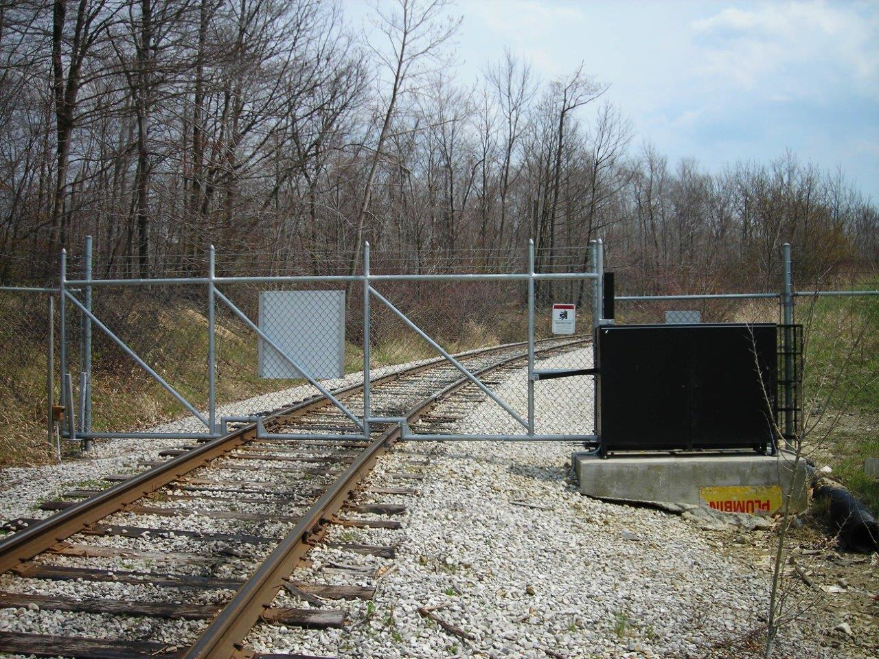 Vertical Pivot Gate Entry System