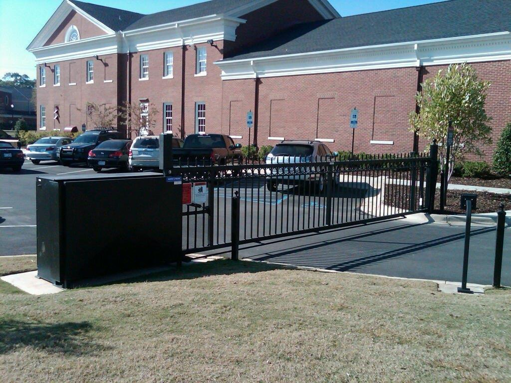 Security Gate Entry System