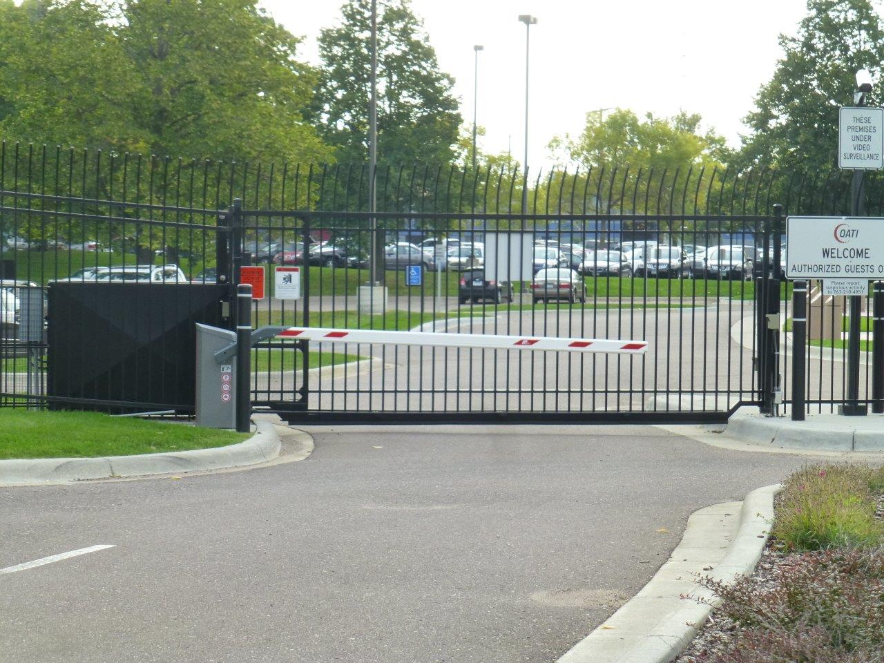 Security Gate Entry System for OATI Ameristar Pickets