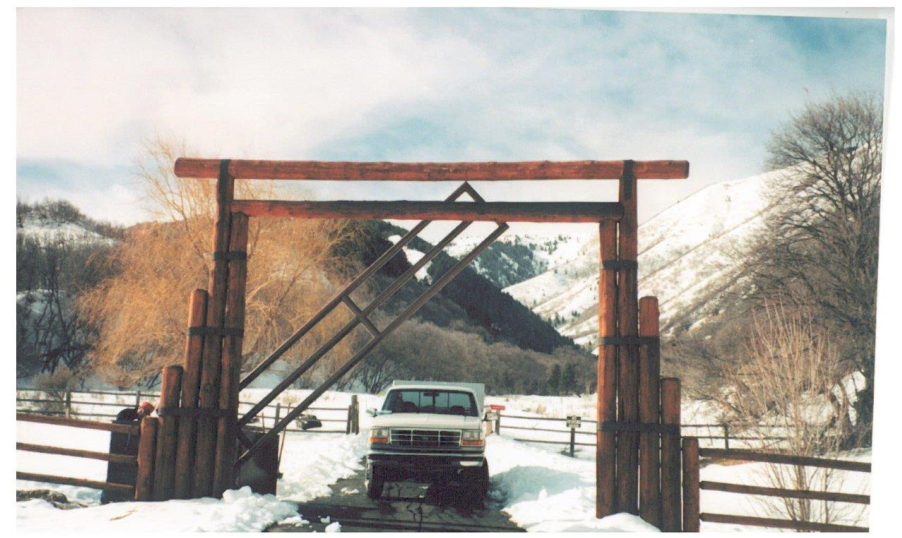Cornhusker - Vertical Pivot Gate Entry System