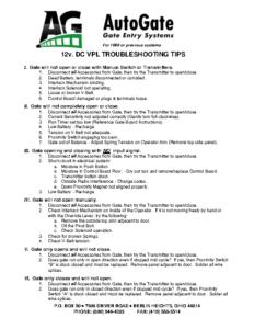 12v-DC-VPL-Troubleshooting-Tips