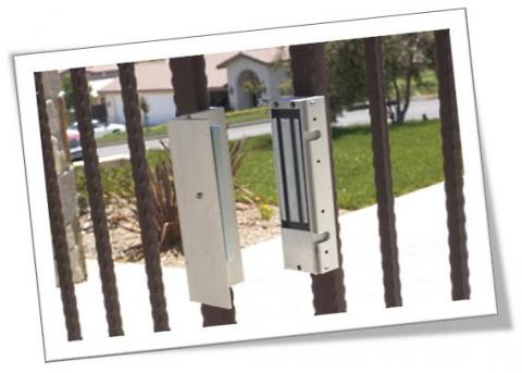 Locking Automatic Gates