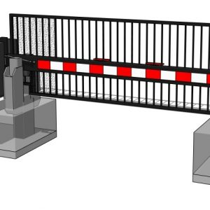 3D M30 Std Foundation – with gate