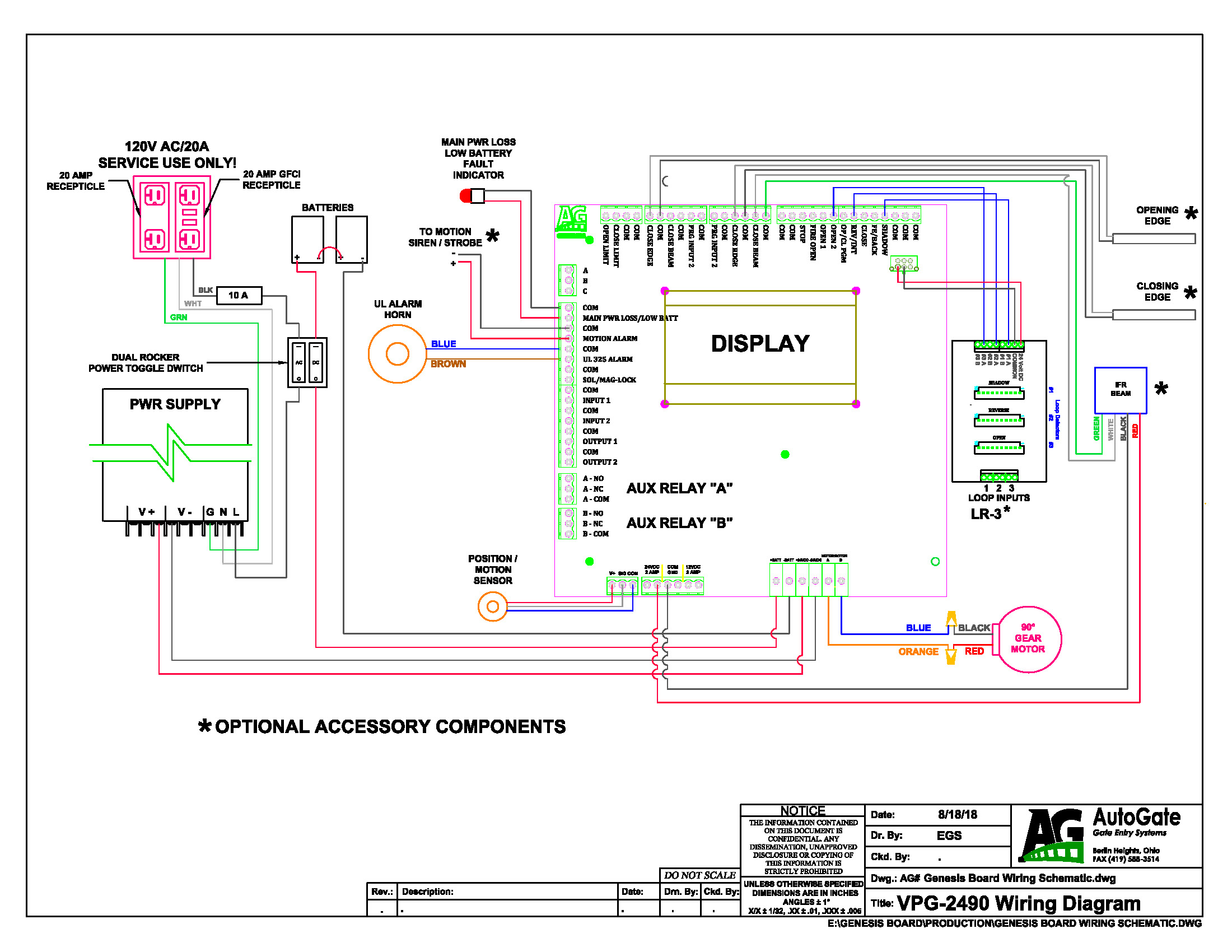 Genesis Schematic Wiring Diagram Dec 2018