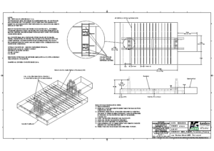 M30 Shallow Foundation Weldment Drawing