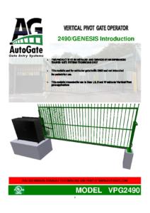 2490 & GENESIS Introduction
