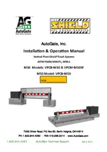 2019 New Shield I & O Manual 3-6-19