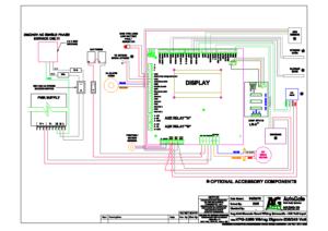 GENESIS 208-240 Vac Wiring Schematic