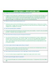 2490 GENESIS FAQ 8-15-19