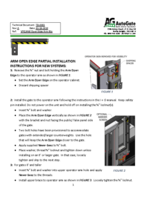 Arm Open Edge partial installation instructions V3 2-24-20