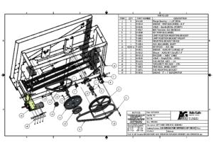 VPG2490 Operator Details UPPER Exploded
